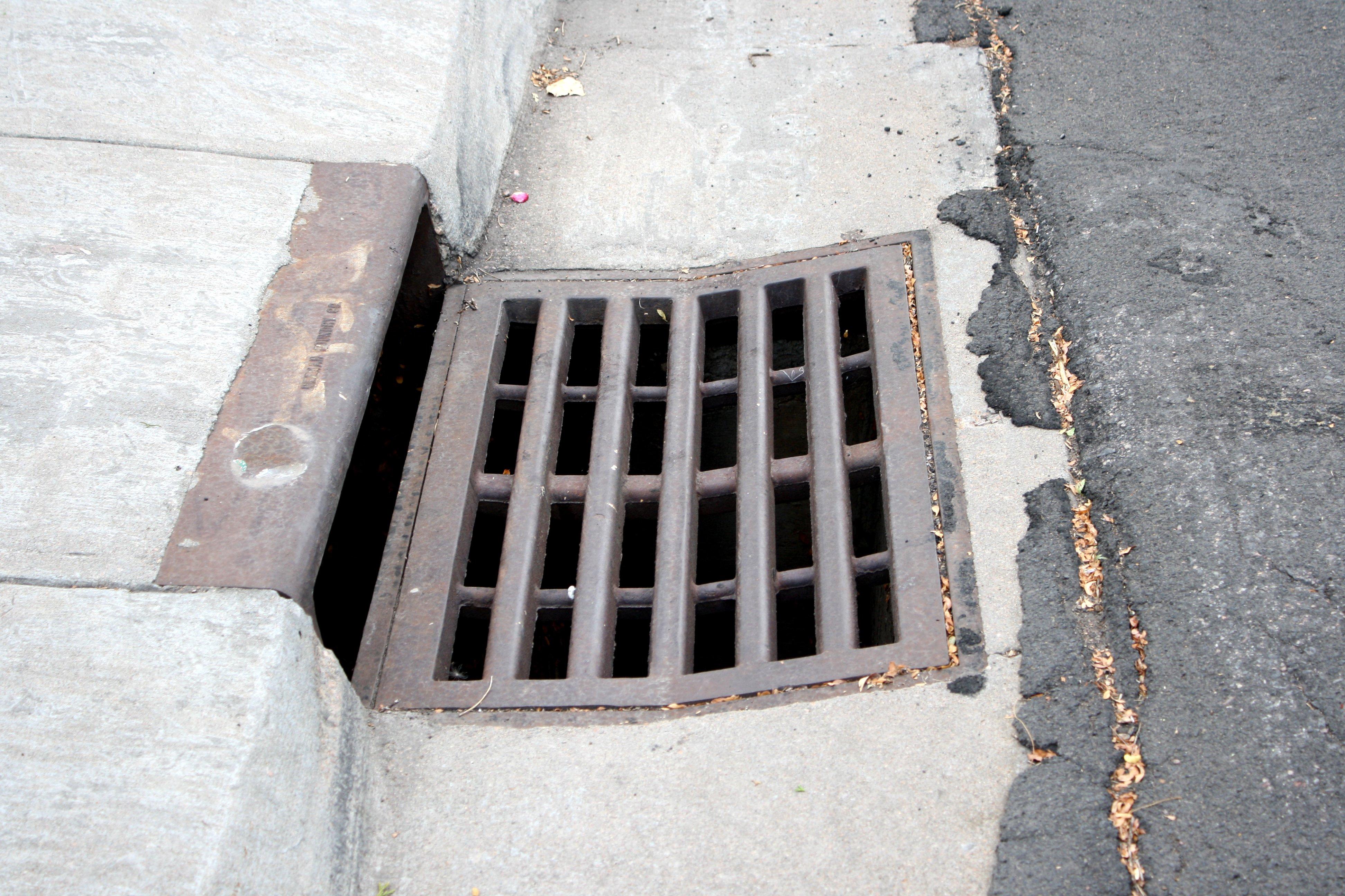 clean storm drain