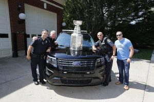 Edgeworth Police Spending the afternoon with the Stanley Cup