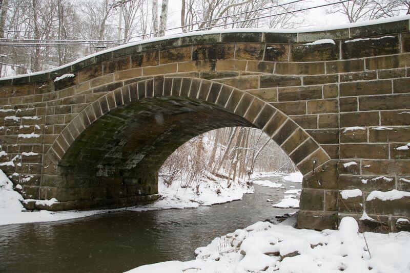 Winter - Little Sewickley Creek Bridge